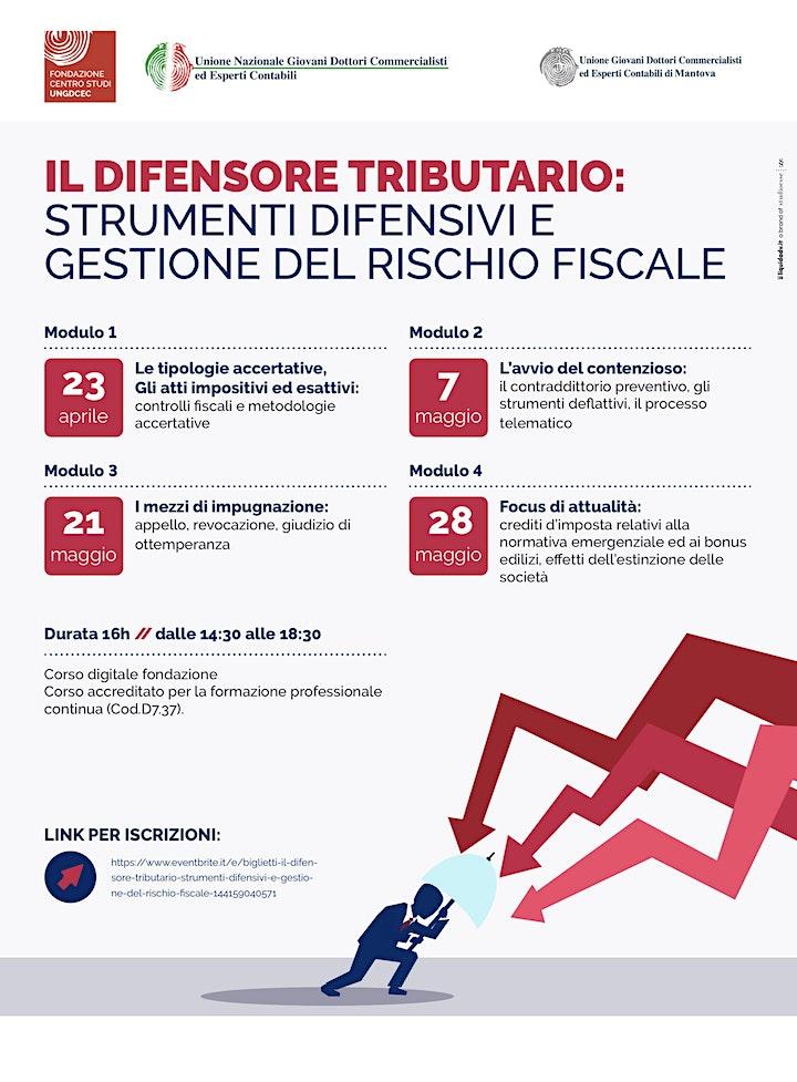 Immagine Il difensore tributario: strumenti difensivi e gestione del rischio fiscale
