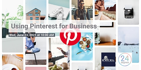 Workshop - Using Pinterest for Business billets