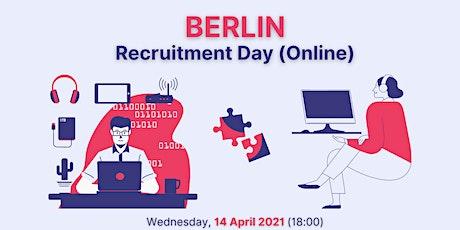 Berlin Recruitment Day (Online) tickets