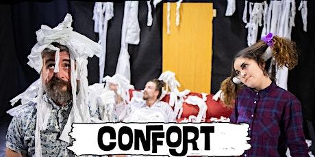 Cía. CircoG   CONFORT  (ESCENA D´ ACI) Teatro Circo entradas