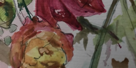 Learn to Draw, FREE Taster Paint & Collage - Still Life Flowers tickets