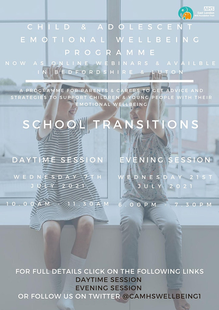 School Transitions (PM session) image