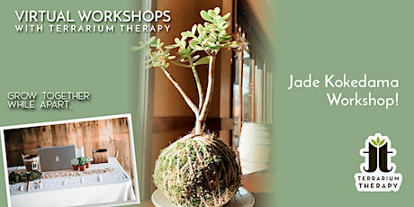 Public Virtual Workshop - Jade Kokedama tickets