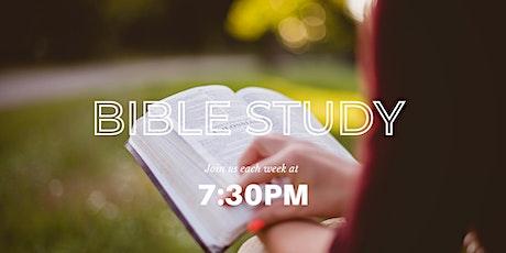 Bible study & prayer meeting tickets