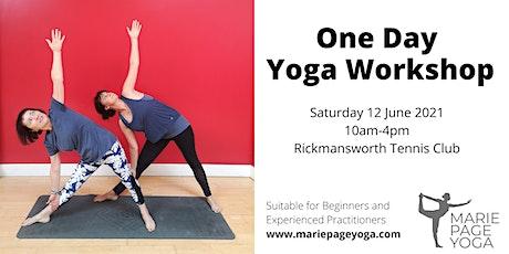 One Day Yoga Workshop [Rickmansworth] tickets