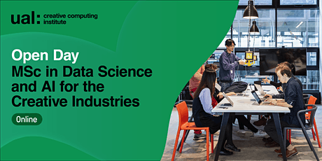 CCI Open Day: MSc Data Science and AI for the Creative Industries tickets
