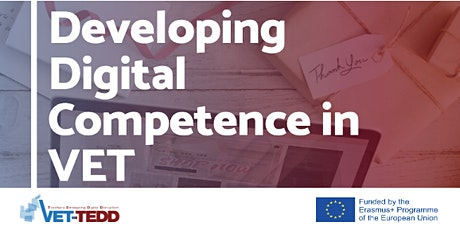 Embrace Digital Disruption with VET-TEDD - Final Conference tickets
