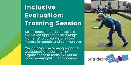 Inclusive Evaluations: Showing your Impact Training Session tickets