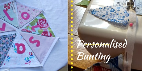 Personalised Bunting Making tickets