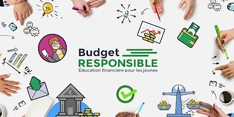 Atelier en ligne - Budget Responsible billets