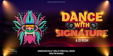 Dance with Signature tickets