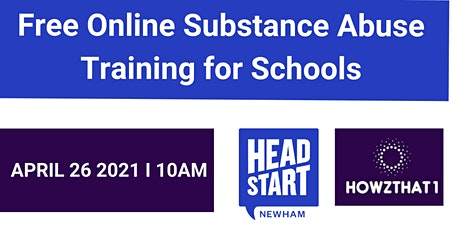 Free Online Substance Misuse Training for Schools tickets