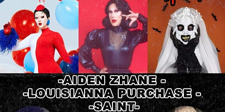 Poppy's Birthday Bash FEAT. Aiden Zhane, Louisianna Purchase, and Saint tickets