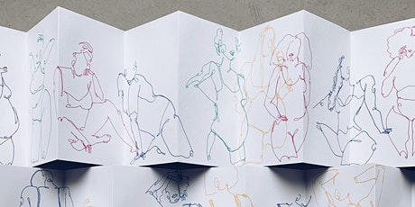 Drawing the body in continuous line - Life drawing / self appreciation tickets