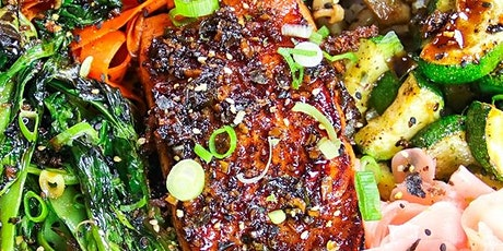 UBS - Virtual Cooking Class: Market Mondays: Spicy Salmon Vegetable Bowl tickets