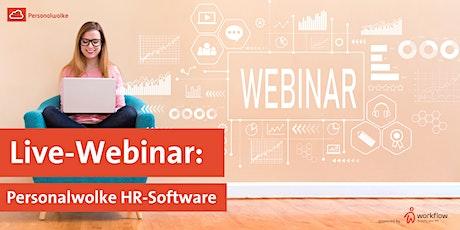 Live-Webinar: Personalwolke HR-Software Tickets