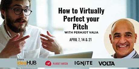 How To Virtually Perfect your Pitch - Session 3 tickets