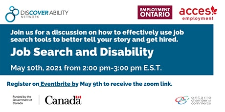 ACCES Employment and Discover Ability Network: Job search with a disability tickets