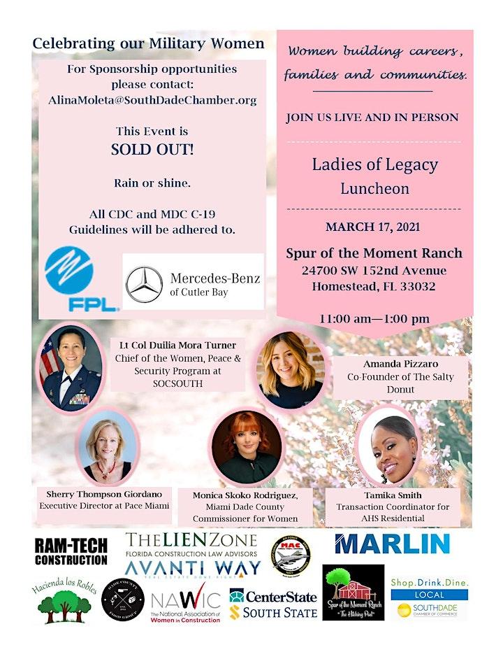 Ladies of Legacy Luncheon - Women building careers, families & communities image