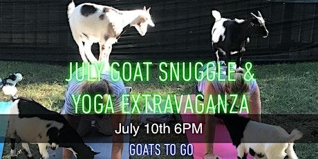 July Goat Snuggle & Yoga Extravaganza tickets