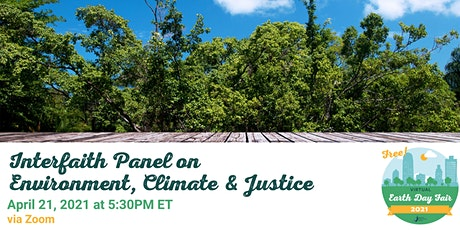 Interfaith Panel on Environment, Climate, and Justice tickets