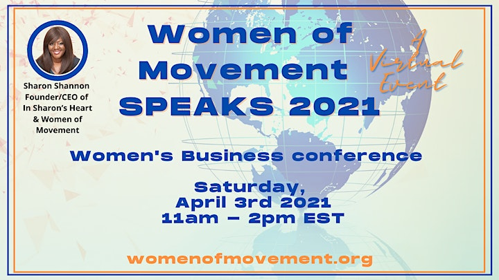 Women of Movement Speaks Business Conference image