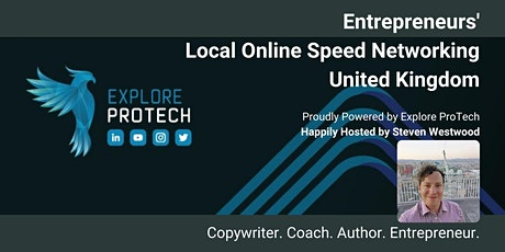 Local Online Speed Networking - United Kingdom (UK) with Steven Westwood tickets