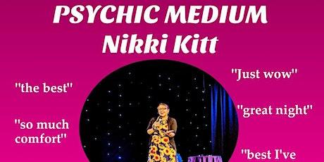 Evening of Mediumship with Nikki Kitt - Tavistock tickets