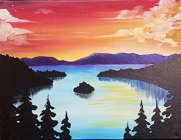 Come Paint With Us Emerald Bay image
