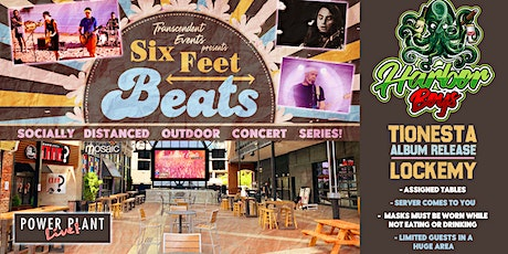Six Feet Beats: The Harbor Boys, Tionesta (Album Release), Lockemy tickets