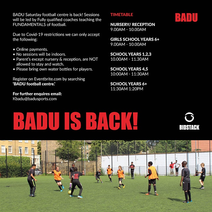 BADU Football Centre image