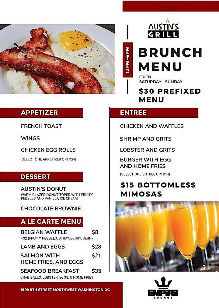 EMPIRE Saturdays   Brunch & Day Party image