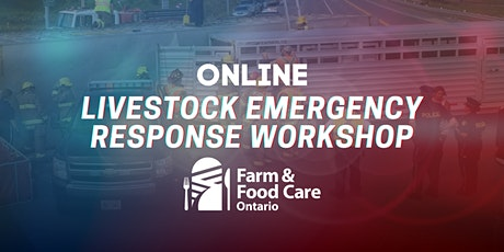 Livestock Emergency Response Workshop- June 3 tickets