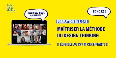 [EN LIGNE] Formation _ Design Thinking maîtriser la méthode ! billets