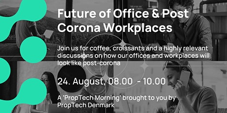 Future of Office & Post Corona Workplaces tickets