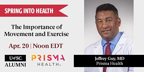 Spring into Health: The Importance of Movement and Exercise tickets