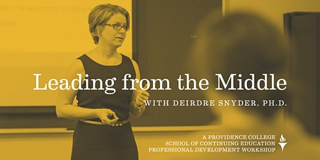 Difficult Conversations - part of Leading from the Middle Workshop Series tickets