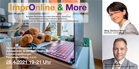 ImprOnline & More - kreative Online-Tools für mehr Interaktion & Spaß Tickets