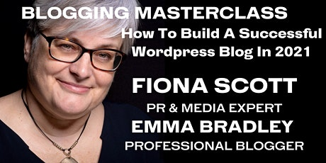 Blogging Masterclass - How To Build A Successful Wordpress Blog in 2021 entradas