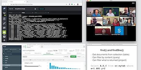Virtual MongoDB Developer Training - US - June 2021 tickets