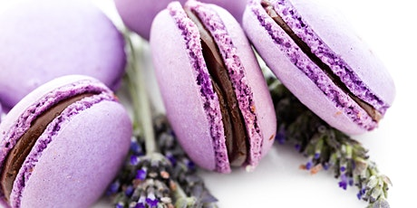 Online Macarons - French Lavender and chocolate macarons - My French Recipe tickets