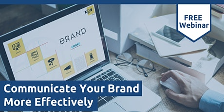 Communicate Your Brand More Effectively tickets