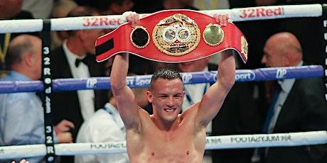 An Evening with Boxing Superstar Josh Warrington tickets