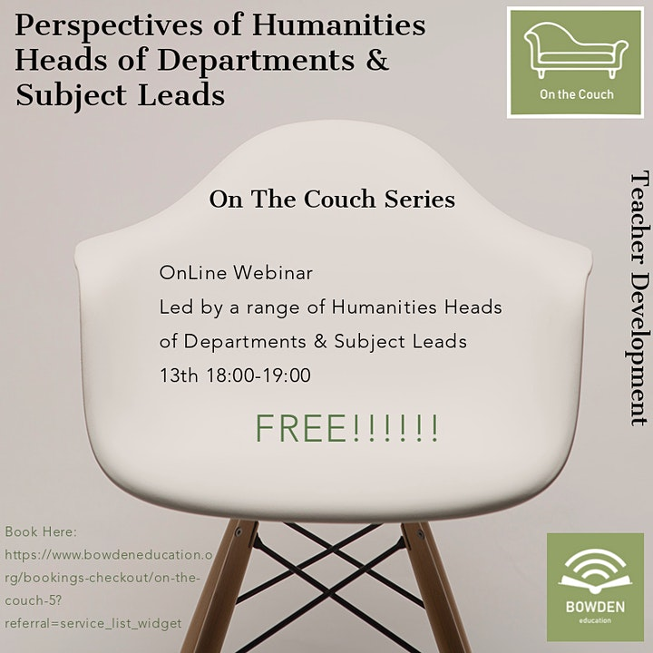 On The Couch: Perspectives of Humanities Subject Leads image