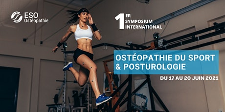 1er symposium international - Ostéopathie du sport & posturologie billets