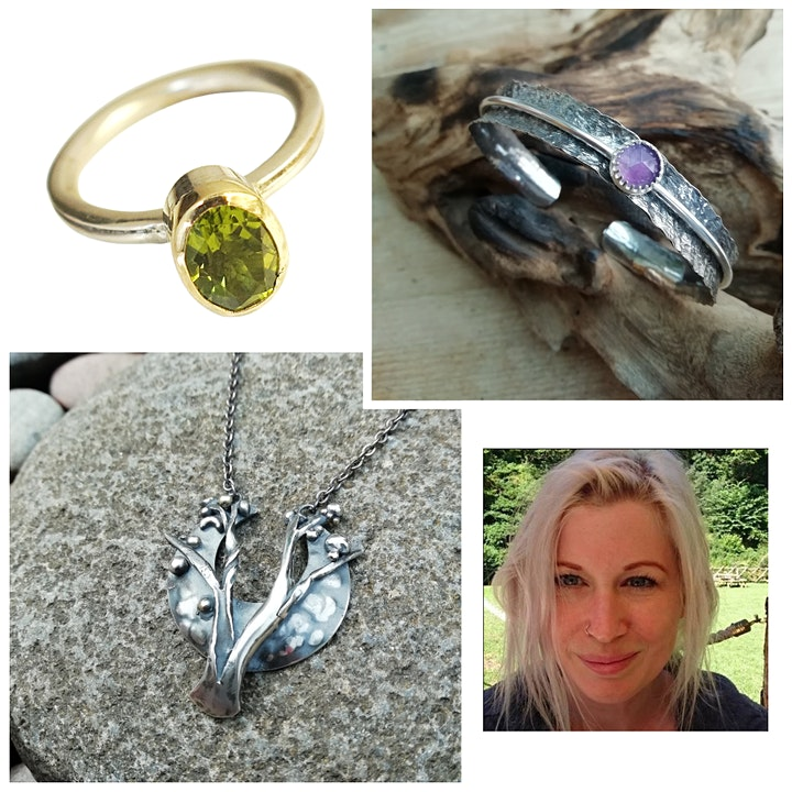 1 Place Remaining - Five Week Silver Jewellery Evening Course image