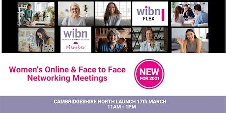 LAUNCH OF WOMEN IN BUSINESS FLEX NETWORKING- NORTH CAMBRIDGESHIRE tickets