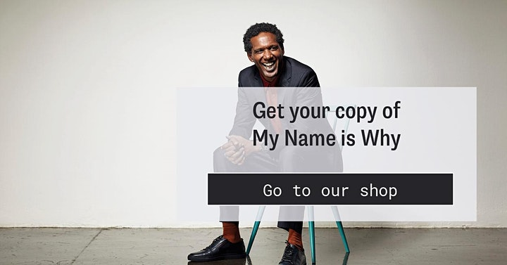 My Name is Why: In Conversation with Lemn Sissay image
