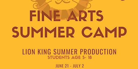 Fine Arts Summer Camp tickets