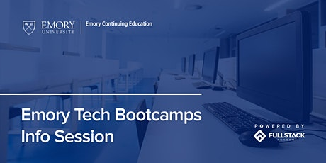 Online Info Session | Emory Tech Bootcamps tickets